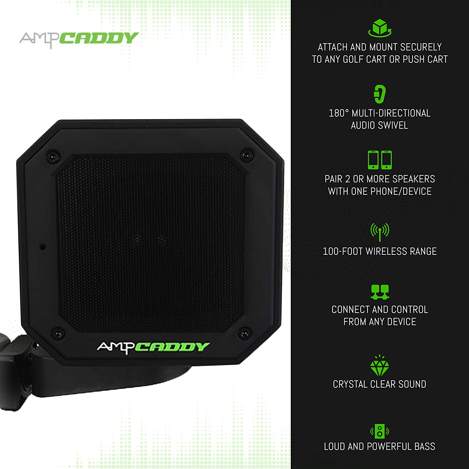 Ampcaddy Bluetooth Speaker