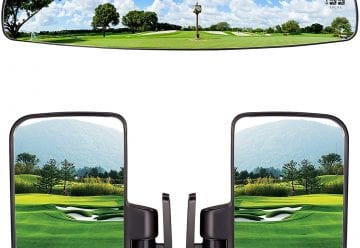 Best Golf Cart Mirrors
