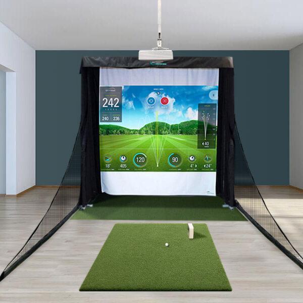 SkyTrak Compact Golf Simulator Package