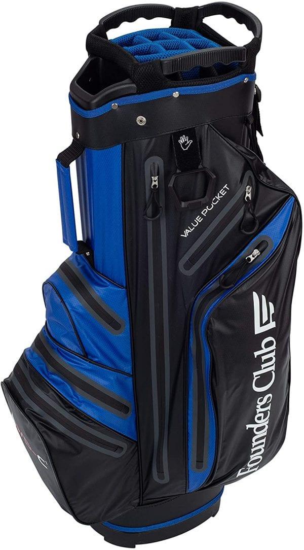 Founders Club Waterproof Cart Bag