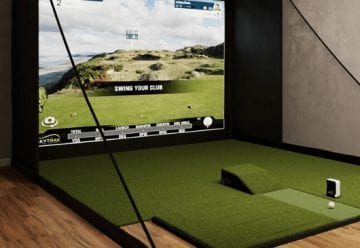 Golf Simulator Enclosure