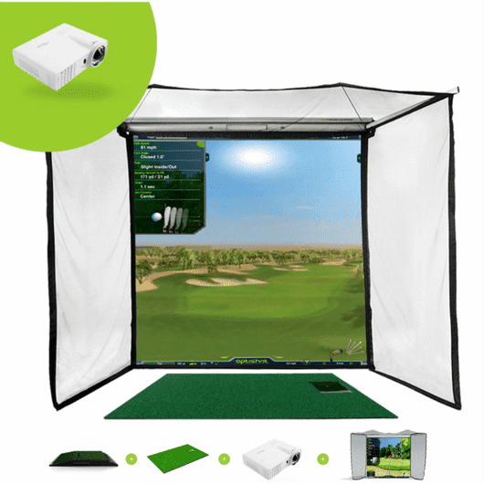 OptiShot2 Golf In A Box Pro Simulator Package