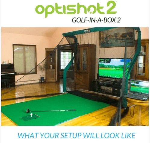 Optishot2 Golf In A Box2