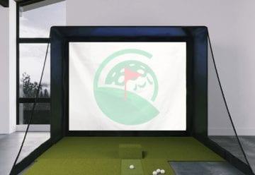 Golf Simulator Screen