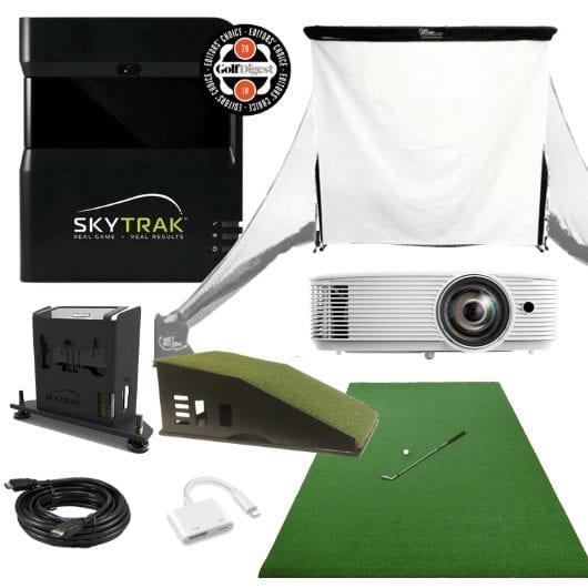 Skytrak Bronze Golf Simulator Package