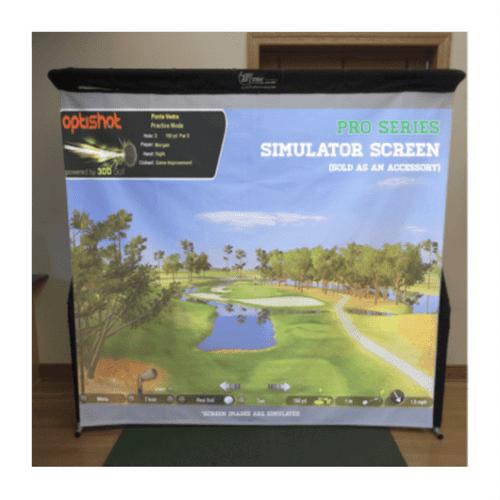 The Net Return Pro Series Golf Simulator Screen